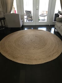 6' Natural Braided Jute rug Tarpon Springs, 34688
