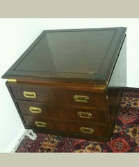 black and brown wooden dresser Calgary, T3J 2T2