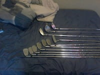 silver golf club set Hamilton, L8S 2Z4