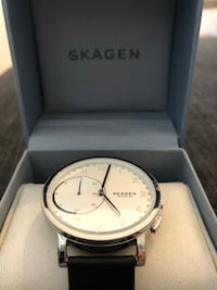 Skagen connected halvsmart klokke m/Bluetooth Bergen, 5055