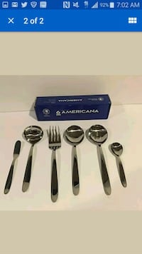 Serving Set Americana Stainless Steel 6 Pieces  Huntersville, 28078