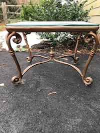 Iron/Glass end table 121 mi