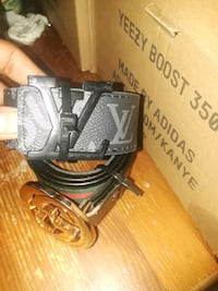 black and gray leather belt Antioch, 94509
