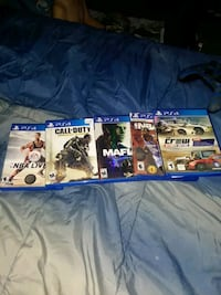 three assorted PS4 game cases Oak Grove, 42262