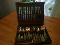 Vintage black and silver cutlery set Moriarty, 87035