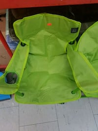 green and yellow camping chair Toronto, M6E 2G8