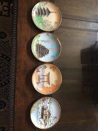 4 Chinese decoration plates Spring Summer. Fall and Winter 6 inch California City, 93505