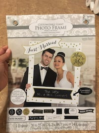 Wedding Photo Frame and props