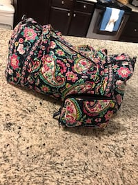 Small Vera Bradley duffle with matching pouch Fort Worth, 76244
