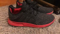 pair of black-and-red Adidas running shoes Georgetown, 47122