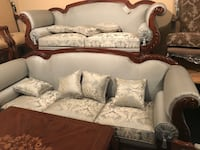 Living room set sofa & love seat and 2 arm chair