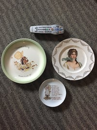 Assorted decorative collectible plates  East Patchogue, 11772