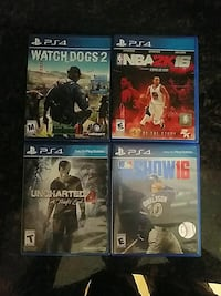 PS4 video games $20 a piece