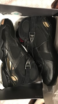 Jordan 8 Shoes - Special OVO Edition for NBA All-Star Weekend- Size 12
