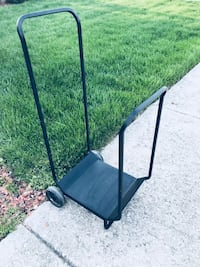ESTATE SALE BLOWOUT! Black, metal, multi functional transport carrier in perfect condition! Used for Transporting many things. We used it to move firewood. Works beautifully! Please see the description of this ad for the details of our estate sale this we Dolton, 60419