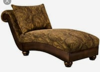 Simmons Paisley  Chaise Lounge  New Carrollton