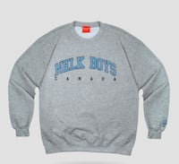 FULL SEND BY NELK BOYS: Grey Nelk Boys Crewneck XL