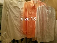 $3.00 each or 4 for $10.00. Sizes are on pictures. Belton, 76513