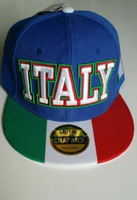 ☆☆☆COLORFUL 'ITALY' HAT (Adjustable)☆☆☆