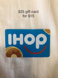 $25 IHOP gift card for $15