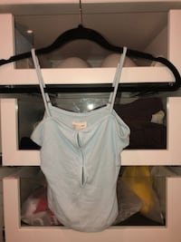 Baby blue tank size small