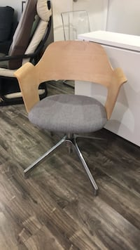 IKEA office chair wood and felt Toronto, M6C 3T5