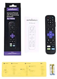Universal IR Remote Replacement for Roku Streaming Player with 13 Extr
