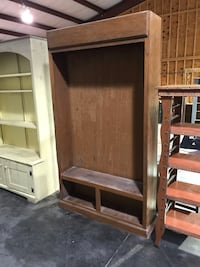 Brown lighted cabinet  Sevierville, 37862