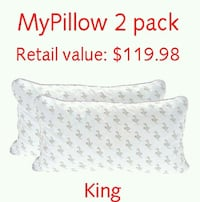 New MyPillow Classic King Pillows Corded 2-pack Lanham, 20706