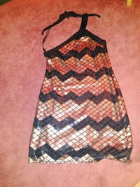 Black and Gold sequin dress Omaha, 68183