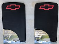 Four black Chevy truck mud flaps. Eagleville, 37060