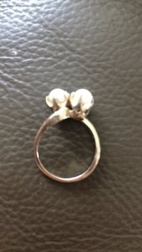 Freshwater and Saltwater pearl ring