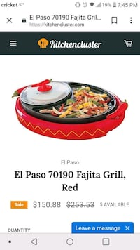 red and black plastic container Marion, 52302