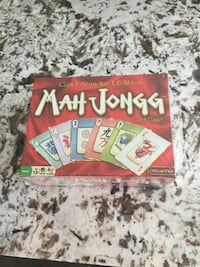 Mah Jongg card game box