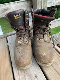 Chippewa Work Boots Men's Size 10 WORN FOUR TIMES Manchester, 03102