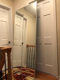 Bi fold doors with mirror (36 inches-80 inches) Niles, 60714