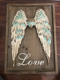Angle wings love inspiration art decor