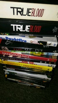 40+ dvd in new or good condition for $20