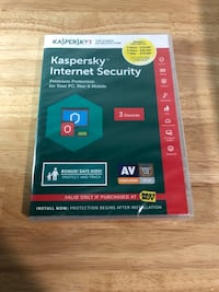 Kaspersky Internet Security 2017, For 3 Devices, For PC/Mac, Product Key Card Lynnwood, 98036