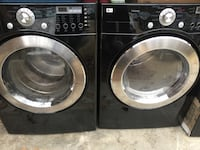 Black LG front load washer and dryer Readyville, 37149