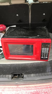 Red and black microwave oven works Phillipsport, 12790