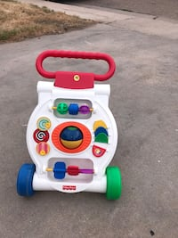 white and red Fisher-Price learning walker Greeley, 80634