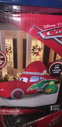 Cars Christmas lawn blow up Toronto, M4L 2V6