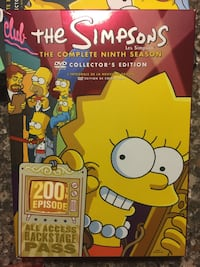 Simpson's DVD box sets $30 each set Belleville, K8N 0B9