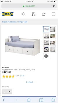 IKEA hemnes day bed   Dumfries, 22025