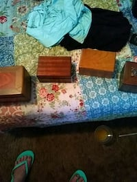 Hand crafted wood jewlery boxes variety of sizes Chico, 95928
