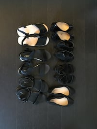 Shoe sale $10-15 each flats are $10 with heels $15 522 km
