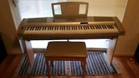 Yamaha portable grand DGX-500 Nottingham, 21236