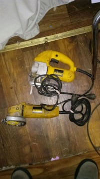 yellow and black corded power tool York, 29745