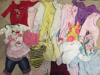 Baby girls assorted clothes 3-6 months